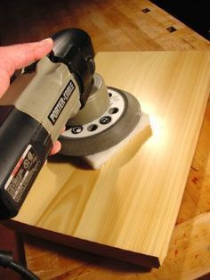 HOW-TO: The Secret to Finishing Wood as Smooth as Glass #WoodworkingPlans