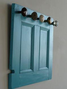 Coat rack in one of my fav colours..duck egg blue