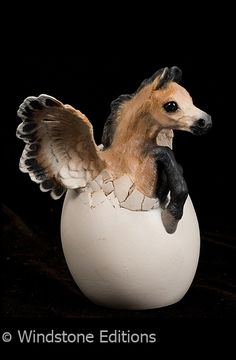 Hatching pegasus by *Reptangle on deviantART