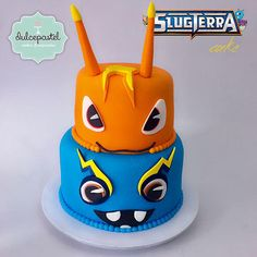Torta Bajoterra - Slugterra Cake - Cake by Giovanna Carrillo