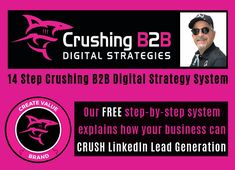 Learn about the Crushing digital marketing strategies and team. Get info on how to start selling with LinkedIn and improving your Digital Marketing ROI. Digital Marketing Strategy, Social Media Marketing, Make Money Online, How To Make Money, Search Engine Marketing, Business Networking, Build Your Brand, Core Values, Lead Generation