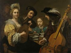 A Musical Party   Gerard van Kuijl   1651    Rijksmuseum   Public Domain