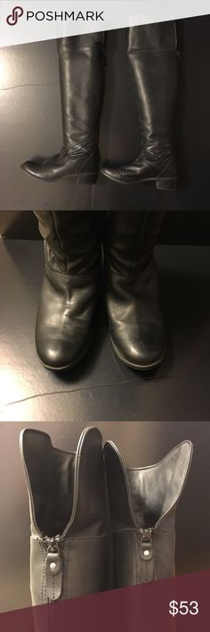 Over the knee Seychelles Boots Over the knee seychelles boots. Size 6, Back zip closure And nice detail at the botton. Could be wear up or fold down. No box Seychelles Shoes Over the Knee Boots
