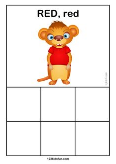 Color Matching Activity for Preschoolers Learn Colors
