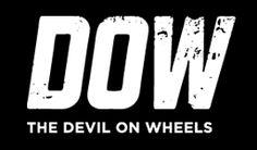 DOW logo White on Black