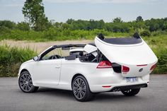 Photographs of the 2014 Volkswagen Eos. An image gallery of the 2014 Volkswagen Eos. Volkswagen Germany, Convertible, Jetta Mk5, Vw Eos, Best Muscle Cars, Free Cars, Car Magazine, Top Cars, First Car