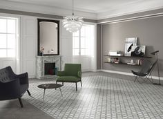 Tra Etoile 25 x 25 Oversized Mirror, Traditional, Vintage Tegel, Prints, Utrecht, Furniture, Home Decor, Base, Retro