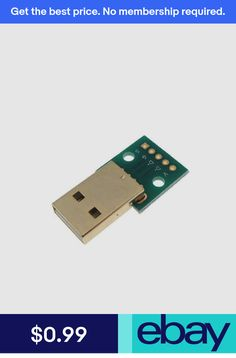 USB 2.0 Type A Male Signal Breakout Board USB-A