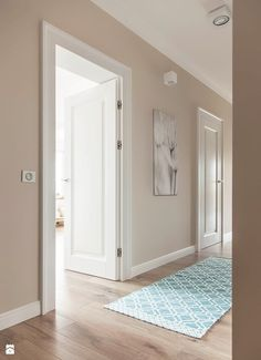 Ideas for painted door interior ideas bedroom colors Interior Paint, Modern Interior, Home Interior Design, Interior Decorating, Hallway Decorating, Interior Doors, Interior Ideas, Decorating Ideas, Paint Colors For Home
