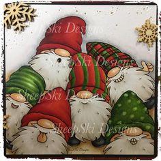 Christmas Garden, Christmas Gnome, Christmas Wreaths, Christmas Crafts, Xmas, Christmas Ideas, Christmas Scenes, Homemade Christmas, Christmas Stuff