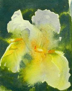 """Iris 1"" - Original Fine Art for Sale - © Dean Shelton"