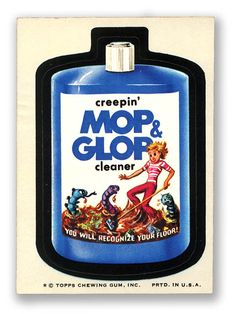 Topps Wacky Packages  8th Series 1974 MOP & GLOP