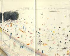 ALONGTIMEALONE: untratto: CULTURE: Yann Kebbi dessine...