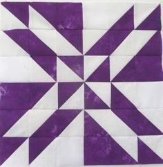The Gretchen quilt block is easy to make but delightfully complex looking. Made with squares and triangles only, including three quilt design options