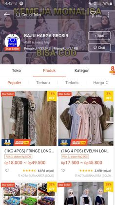 Best Online Clothing Stores, Online Shopping Sites, Online Shop Baju, Barely There Makeup, Kebaya Muslim, Casual Hijab Outfit, Photos Tumblr, Instagram Feed, Shops