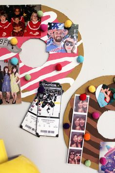 Such a cute little upcycled project idea. Love this - make a donut pin board!