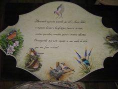 Pintura de passarinhos  painting birds Mundo da Arte atelier
