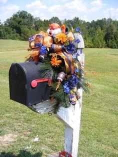 Auburn Tigers mailbox
