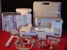 Brother Innovis Duetta Embroidery Machine is the sewing, embroidery and quilting machine you& always dreamed about Embroidery Machines For Sale, Brother Embroidery Machine, Machine Quilting, Machine Embroidery Designs, Brother Sewing Machines, Disney Designs, Extension Table, Different Stitches, Moon Design
