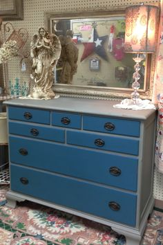 1000 Images About Chalk Paint 174 Aubusson Blue On Pinterest