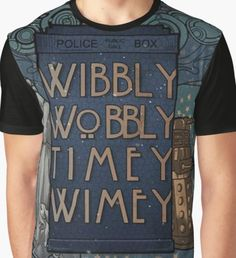 dr who Graphic T-Shirt
