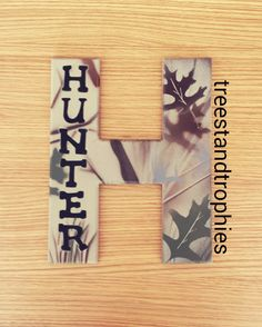 Items similar to Custom Hand painted Wooden Letter with Name- Camo Decoration- Wall decor- Made to Order on Etsy Painting Wooden Letters, Painted Letters, Hand Painted, Camo Wreath, Camo Rooms, Paint Stick Crafts, How To Paint Camo, Name Decorations, Baby Lane