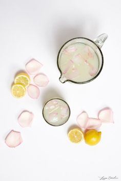 Rose Infused Lemonade