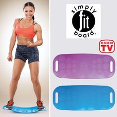 Simply Fit Board® is the workout board with a twist! Workout Board, Fit Board Workouts, Fun Workouts, Fitness Diet, Yoga Fitness, Health Fitness, Simply Fit Board, Or Mat, Workout Equipment