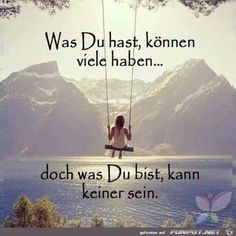 ▷ ideas for inspirational sayings that change your life ▷ Ideen für inspirierende Sprüche, die Ihr Leben verändern werden thoughtful quotes what you have can have many what you are none can be - German Quotes, French Quotes, Spanish Quotes, Morning Greetings Quotes, Good Morning Quotes, Monday Morning Wishes, Me Quotes, Motivational Quotes, Inspirational Quotes