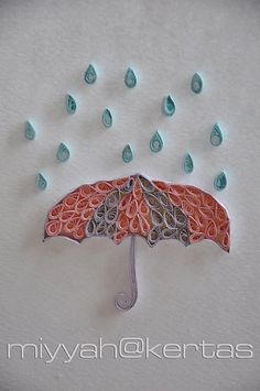 Perfect for a wedding shower, baby shower, or even a rainy day card
