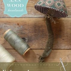 little mushroom sewing pattern