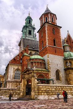 Poland Cracow Royal Castle Wawel April 2010