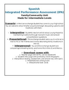 Ccflt  What Is An Integrated Performance Assessment
