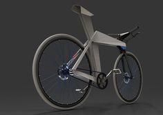 Rollin' Bicycle Design Concept by Moritz Menacher