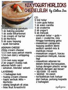 recipe: resepi kek mango cheese leleh [24]