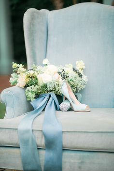 Vintage Meets Modern in this Shoot Full of Dreamy Blues