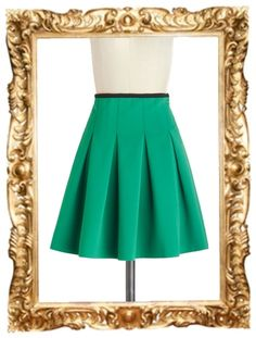 Working Order Skirt in Green - $27.99 (normally $39.99)
