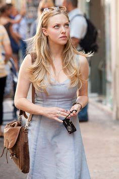 Amanda Seyfried as Sophie Hall, a fact checker living in New York. - Letters to Juliet