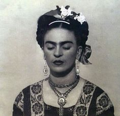 Frida Kahlo~Photographed by Dora Maar (1938-39)