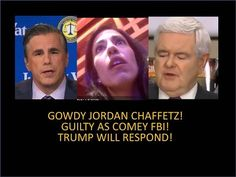 Gowdy, Jordan, Chaffetz! They are As Guilty As The FBI! It's All A show! Trump Will Respond! - YouTube