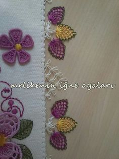Stitcher's Revolution Iron-On Transfer Pattern for Embroidery, Roaring - Embroidery Design Guide Embroidery Kits, Embroidery Stitches, Embroidery Designs, Crochet Borders, Crochet Motif, Hobbies And Crafts, Diy And Crafts, Flower Vase Design, Lacemaking