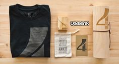 Ugmonk t-shirt packaging design