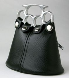 Brass Knuckles Purse