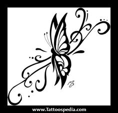 tribal tattoo of butterfly meaning Tattoo Sister   Sister Tattoos and Designs, Pinterest tattoos on
