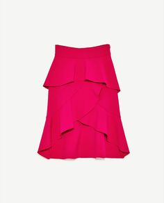 Image 6 of FRILLED SKIRT from Zara