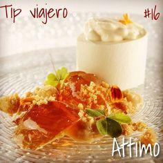 ¡Para todos los viajeros! Este miercoles te vamos a recomendar Attimo, un restaurant en Sao Paulo ¡no te lo pierdas!