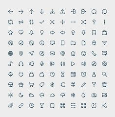 100 Ink Style Icons | IconStore