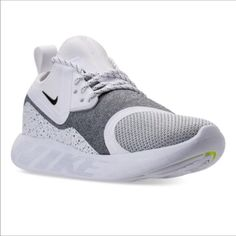 faaa4e6ffd Nike Women's Lunar Charge Essential Casual Sneakers from Finish Line -  White 7