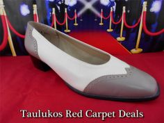 Womens shoes CALIFORNIA MAGDESIANS Career Pumps Taupe Ivory LEATHER sz 13 W WIDE #CaliforniaMagdesians #PumpsClassics #rare #wide
