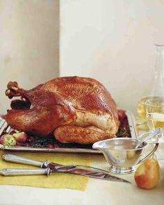Martha Stewart - Roasted Brined Turkey